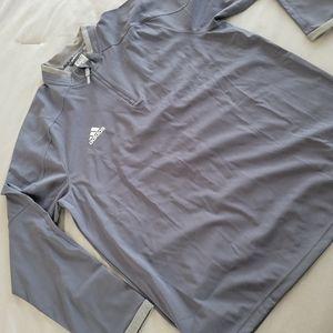 Adidas Mens Baseball Trainer shirt Size Large